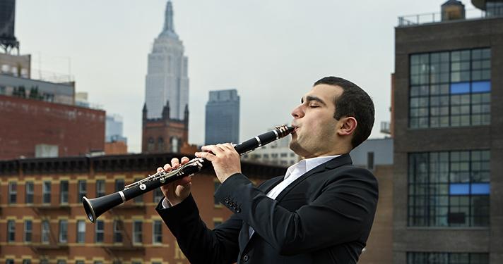 Narek Arutyunian, Clarinet