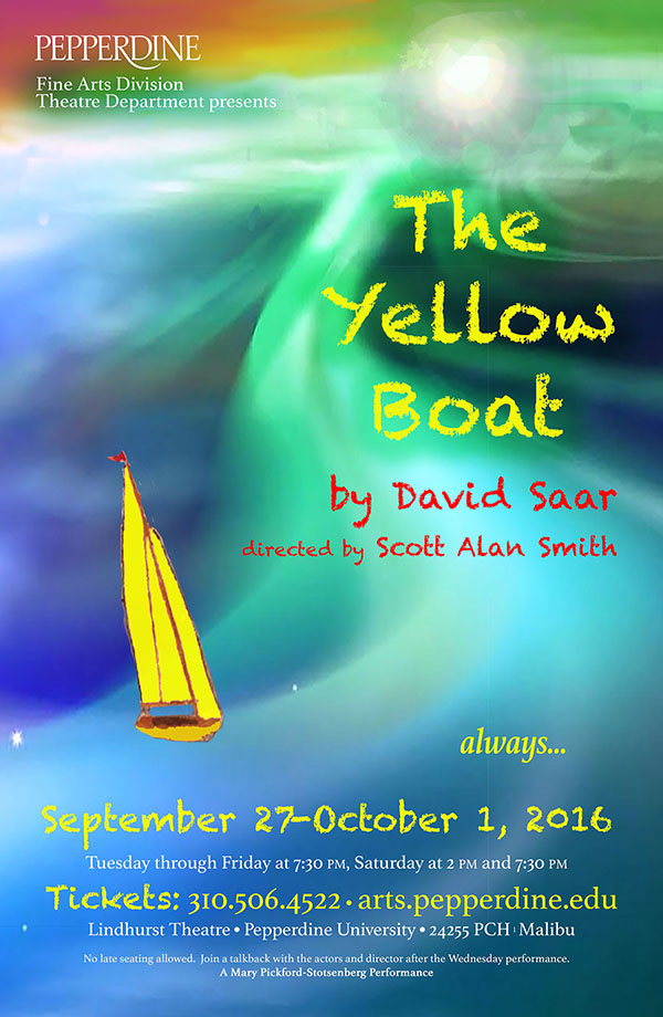 Yellow Boat Poster