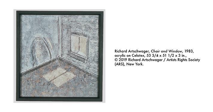Richard Artschwager, Chair and Window, 1983,