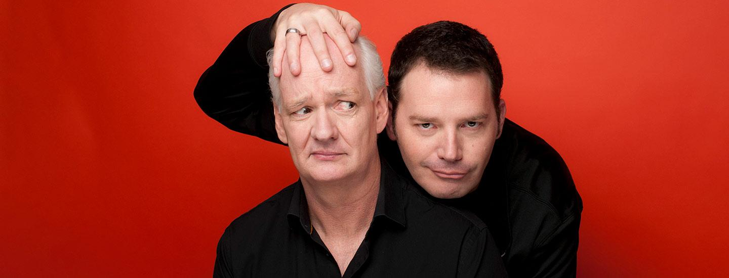 Colin Mochrie and Brad Sherwood