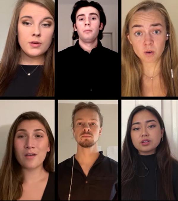 Pepperdine Chamber Choir Virtual Concert