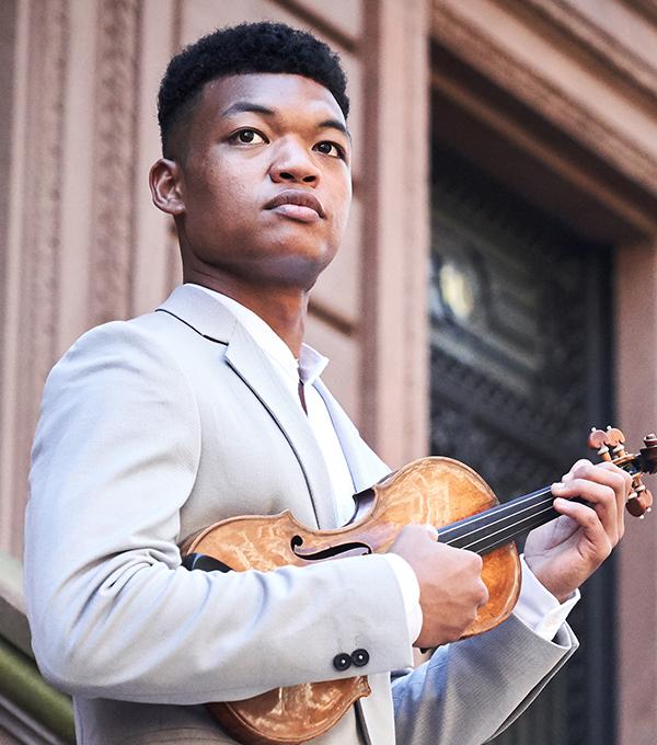 Randall Goosby, Violin