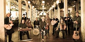 The Time Jumpers, featuring Vince Gill, Kenny Sears, Ranger Doug Green, and Paul Franklin